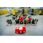 The British Heart Foundation Helps Teach Croydon Drivers Delivering Amazon Parcels Lifesaving CPR
