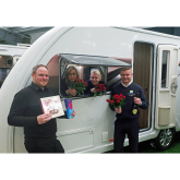 Caravan and motorhome buyers in for a Valentine's Day treat