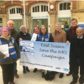 Save the NHS walk-in centre at Eastbourne station