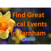 Your guide to things to do in Farnham – 28th February to 12th March