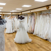 WOLVERHAMPTON WOMAN WHO DONATED DESIGNER WEDDING DRESS TO ST GILES HOSPICE CALLS ON BRIDES TO SUPPORT BRIDAL BOUTIQUE