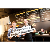 Shrewsbury businesses offered support after flooding