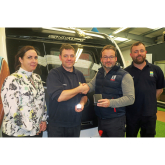 Time flies as Richard clocks up 20 years' service with Salop Leisure