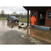 Community clear-up for Greenhous West Mid Showground