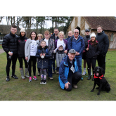 Dog Walk Helps Farnham Hospice