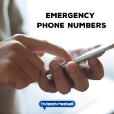 Emergency Phone Numbers when staying at home
