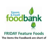 Epsom & Ewell Foodbank Friday Foods – the URGENT items the Foodbank are short of this week @EpsomFoodbank