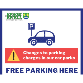 Council car parking charges remain suspended in #Epsom and #Ewell @EpsomEwellBC
