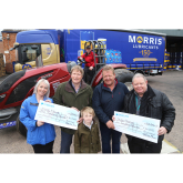 Shropshire tractor pull raises £12,000 for hospices
