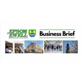 The latest BUSINESS BRIEF from Epsom & Ewell Borough Council