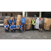 Partners work together to distribute over 100,000 meal and soothe packs to NHS staff