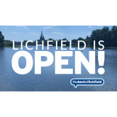 Lichfield is Open for Business