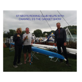 ST NEOTS ROWING CLUB HELPS WITH CHANNEL 5'S THE GADGET SHOW