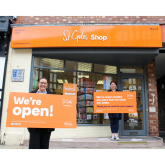 ST GILES HOSPICE TO RE-OPEN EIGHT MORE SHOPS
