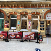 The threat to Bella's Cafe in the Eastbourne Railway Terminus