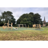 Stowe Fields play area unveiled