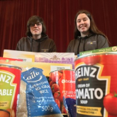 Youth theatre pitches in to support foodbank project