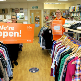ST GILES HOSPICE TO RE-OPEN SHOPS IN WALSALL AND ALDRIDGE AS CUSTOMERS PRAISE SAFETY MEASURES
