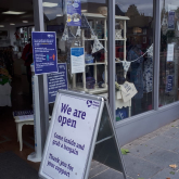 Success as Charity Reopens Shops