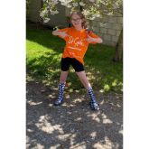EVIE (9) CALLS ON KIDS TO JOIN MINI MILES 4 ST GILES CHALLENGE