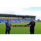 Salop Leisure extends stand sponsorship at Shrewsbury Town