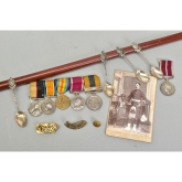 Staffordshire soldier's unique medals group for auction