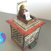 Vintage Money Box Helps Raise Money for SCF With The Help of The Repair Shop