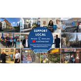 How can I support local in Walsall?