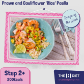 Recipe of the Week – Prawn and Cauliflower 'Rice' Paella
