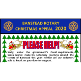 Ho Ho Ho Support Santa with #Banstead Rotary On line collections  @BansteadRotary