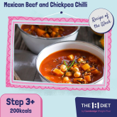 Recipe of the Week – Mexican Beef and Chickpea Chilli