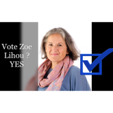 Zoe Lihou from de garis accounting is standing for election as Constable in St Peter Port