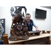 'Aladdin's cave' of clocks discovered by Lichfield auctioneer