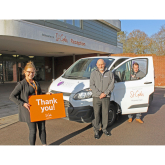 LICHFIELD CARPET CLEANING FIRM SUPPORTS ST GILES HOSPICE TO FUND CARE SERVICES FOR LOCAL FAMILIES