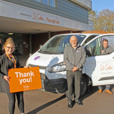WALSALL CARPET CLEANING FIRM SUPPORTS ST GILES HOSPICE TO FUND CARE SERVICES FOR LOCAL FAMILIES