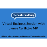 Meeting with James Cartlidge MP hosted by thebestof Sudbury