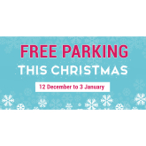 Free festive parking in Lichfield city centre