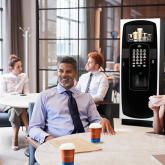 Experience the cost-effective convenience of a hot drinks machine in your workplace this winter.