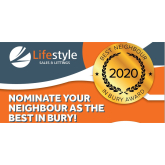 Lifestyle Sales and Letting are looking for The Best Neighbour in Bury!