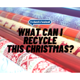 What can I recycle this Christmas?