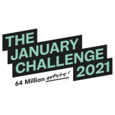 The January Challenge 2021 with Barrow Libraries.