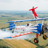 DAREDEVILS TO TAKE ON ST GILES HOSPICE WING-WALKING CHALLENGE