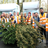 ST GILES HOSPICE CELEBRATES RECORD-BREAKING TREECYCLE SUCCESS