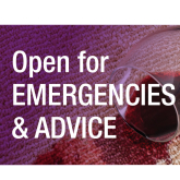 Open For Emergencies & Free Advice