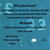 How can a Virtual Assistant save you time and money?
