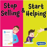 The secret to better customer relationships - Sell without selling!  Tips for our Local Kettering Businesses from The Best of Kettering.