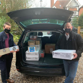 Coinadrink supports ICU staff across the West Midlands through the Hampers for Heroes campaign.