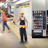 Vending machine services well suited to the manufacturing industry.