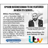 John Freeze of Vintage Pawnbrokers - Prestige Watches & Diamonds in Epsom on new Million Pound Pawn ITV show