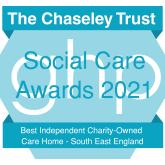 Chaseley named Best Independent Charity-Owned Care Home – South East England